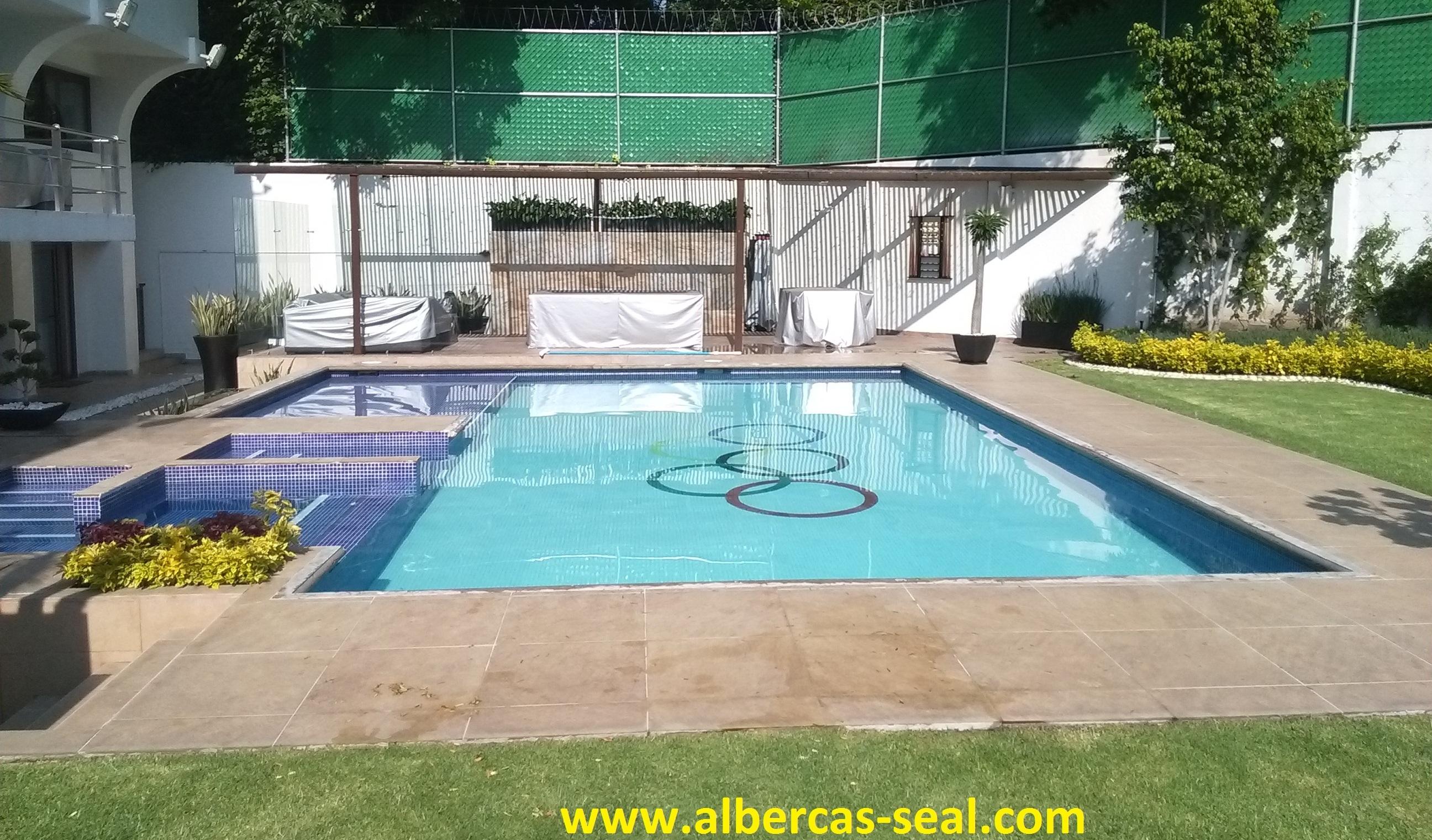 Albercas albercas seal mantenimiento limpieza y for Construccion de piscinas en mexico